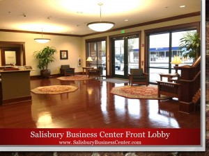 Salisbury Business Center Front Lobby