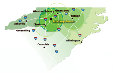 Salisbury-Rowan-Regional-Map-Economic-Development