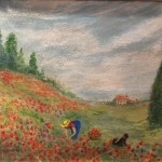 Poppies for the Manor ~ Carolyn Kirkman